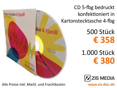 Ihr günstiges CD, DVD Presswerk